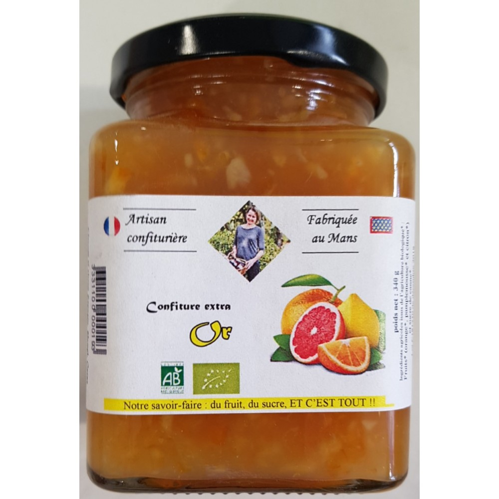 Confiture Artisanale d'Or BIO