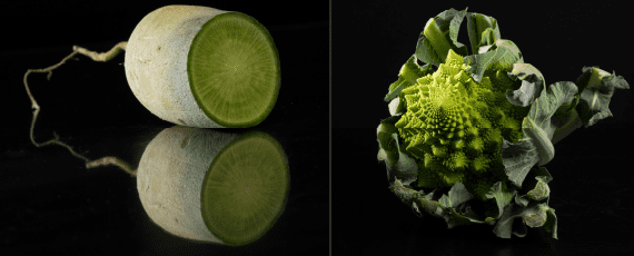 photo homepage radis green meat - chou romanesco
